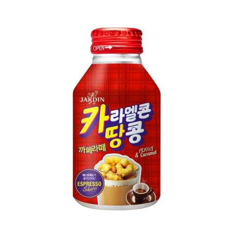 쟈뎅, 커피와 쿠키의 만남 4탄 '카라멜콘땅콩 까페라떼' 출시