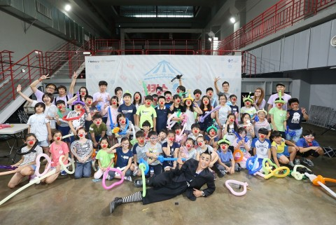 서울문화재단 서울거리예술창작센터, 서커스 예술놀이터-여름방학 편 참가자 100명 모집