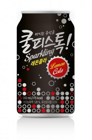 동원F&B, '쿨피스톡 레몬콜라' 출시