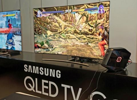 삼성전자가 TV 업계 최초로 스팀용 PC 게임 화면을 TV로 스트리밍 해주는 스팀링크 앱을 출시했다