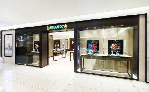 롤렉스, 현대백화점 무역센터점 2층에 리뉴얼 오픈