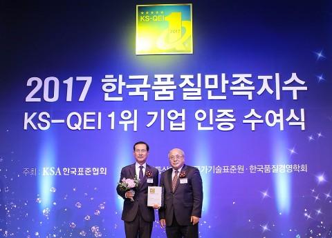 신일산업, 한국품질만족지수 12년 연속 선풍기 부문 1위 기업 선정