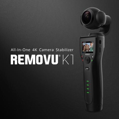 에셀티가 짐벌 일체형 카메라 리모뷰 K1 개발에 성공했다
