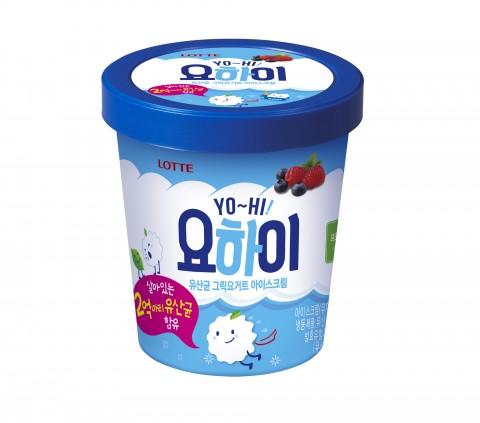롯데제과, '요하이 아이스크림' 출시