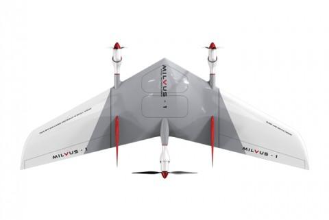 드로닛, 국내 최초 VTOL 고정익 드론 '밀버스' 출시