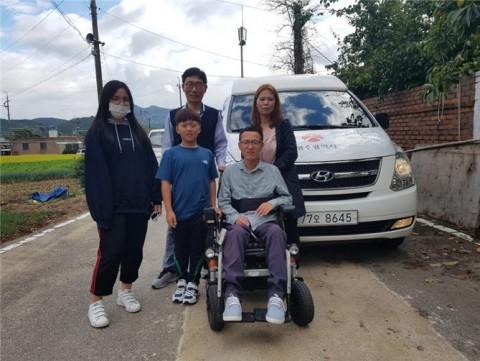 광주광역시교통약자이동지원센터가 2018년에도 설 명절을 맞아 고향 방문 차량 지원 행사를 이어가기로 했다