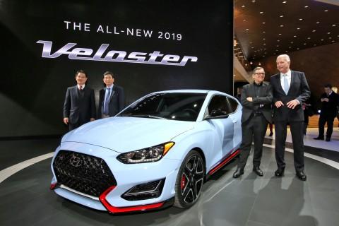현대자동차, '2018 디트로이트 모터쇼' 참가