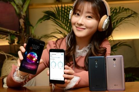 LG전자가 실속형 스마트폰 LG X4+ 출시한다