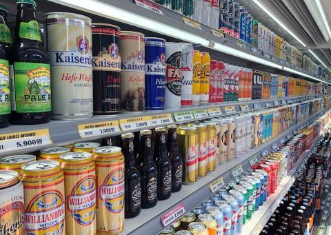굿샵이 매경 창업&프랜차이즈쇼에 참가해 맞춤 상담을 실시한다. 사진은 굿샵이 판매하는 250여가지 수입 세계 맥주