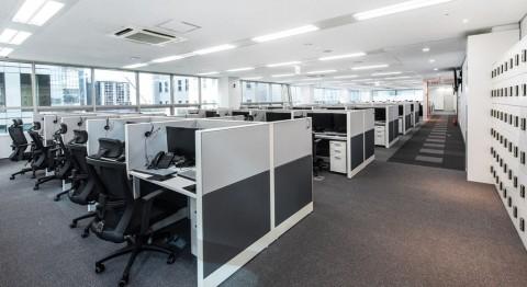 빗썸이 역삼동에 위치한 상담센터를 대치동 삼성역 인근으로 확장 이전한다. 사진은 새로 오픈한 빗썸 상담센터 내부