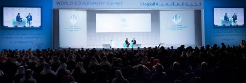 호베르투 아제베두 세계무역기구 사무총장이 두바이에서 열린 제6차 월드 거번먼트 서밋 2018에서 초연결세계의 글로벌 교역 전망이라는 주제로 연설을 했다