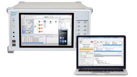 안리쓰의 eCall Tester MX703330E, Signaling Tester MD8475A/B