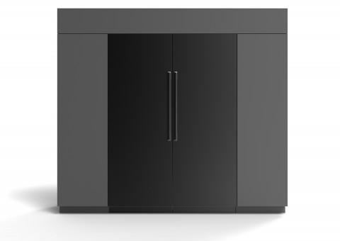 삼성전자 프리미엄 빌트인 냉장고 BRR9000M