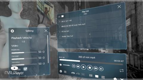 나인브이알, VR동영상 플레이어 'NVR Player' 스팀 플랫폼 출시