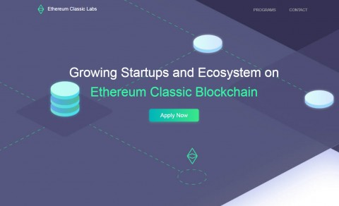 ETC Labs 홈페이지