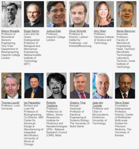 랩온어칩 및 마이크로플루이딕스 컨퍼런스 : 유럽 2018 기조 연사
