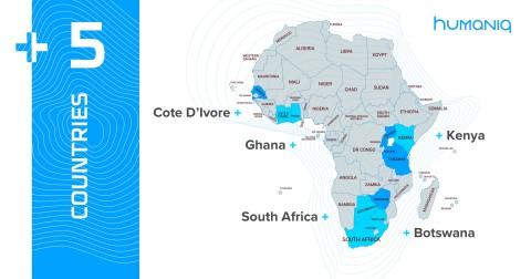 휴매닉이 자사 앱을 아프리카 5개국에 출시했다