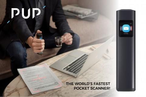 세계에서 가장 빠른 무선 모바일 스캐너 PUP 스캔