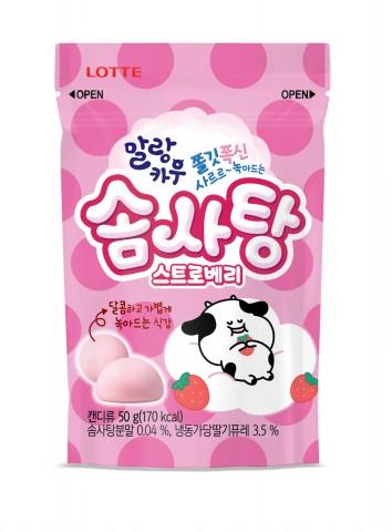 롯데제과, 더 폭신해진 '말랑카우 솜사탕' 출시