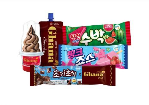 롯데제과 빙과 신제품 5종