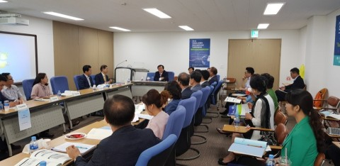 KAPA/KSCIA International Conference에서 참석자들이 첨단범죄에 대해 논의하고 있다