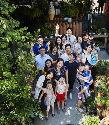 GC녹십자 Connect+에 참여한 임직원들