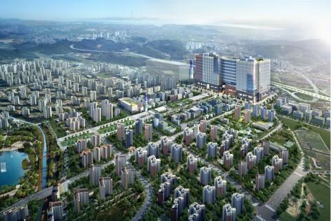 2019년 7월 개통 예정인 김포도시철도 양촌역 역세권에 위치한 지식산업센터 디원시티