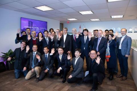 캐나다 몬트리올에서 열린 삼성전자 몬트리올 AI 연구센터 개소식