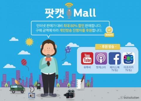 팟캐스트·1인 방송과의 동반 성장 위한 모바일 쇼핑몰 팟캣몰