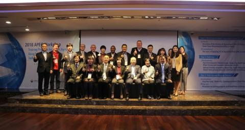 연수 프로그램에 참여한 9개국 정책담당자와 농식품부, 농정원, 농가 등 담당자 일동