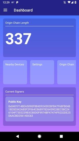 XYO 네트워크 앱