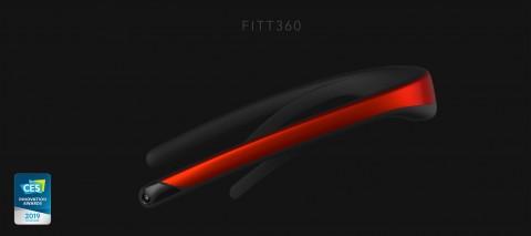 CES 2019 혁신상을 수상한 세계 최초 넥밴드형 웨어러블 360도 카메라 FITT360