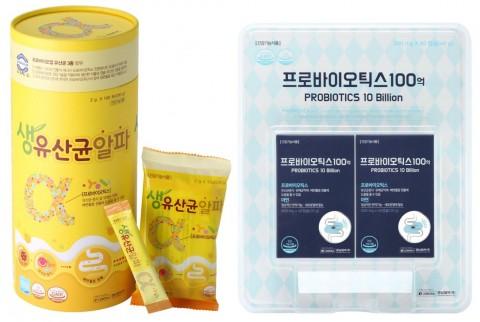경남제약 유산균 신제품 2종 제품