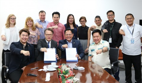 EUNEX와 Cagayan Economic Zone Authority의 MOU 체결