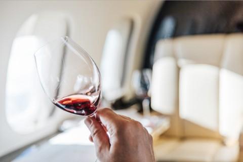 비스타젯은 비스타젯 와인 프로그램 개발 과정에 세계 최고의 와인 전문가를 여러 차례 비행에 초대해 전 세계의 여러 와인을 시음하고 맛을 비교했다