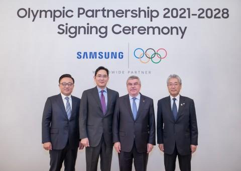 삼성전자는 국제올림픽위원회(IOC)와 2020년까지였던 올림픽 공식후원 계약기간을 2028년까지로 연장했다