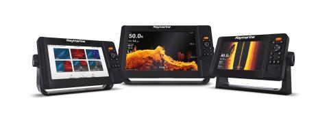 플리어 시스템의 첨단 컴비네이션 소나 레이머린 엘리먼트와 GPS 디스플레이가 연안 어부들과 배스 낚시꾼들에게 실물같은 영상을 제공한다