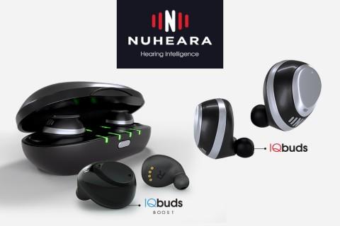 신규 론칭되는 Nuheara 브랜드의 IQbuds와 IQbuds Boost