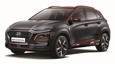 현대자동차가 코나 아이어맨 에디션 1700대 한정 판매를 시작한다고 밝혔다