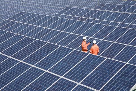 한화에너지 태양광 발전소 현장
