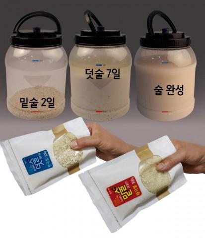 황국쌀 막걸리 만드는 과정