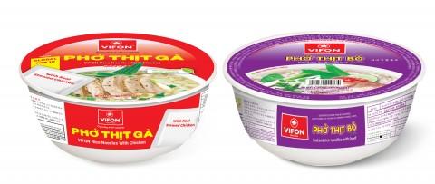 뽀띠가 닭고기 쌀국수와 뽀띠포 소고기 쌀국수