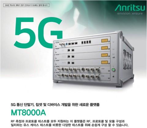 안리쓰코퍼레이션의 MT8000A