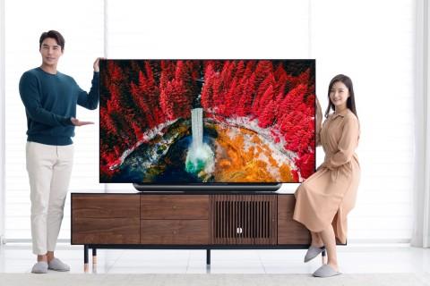 2019년형 LG올레드TV AI씽큐(C9)