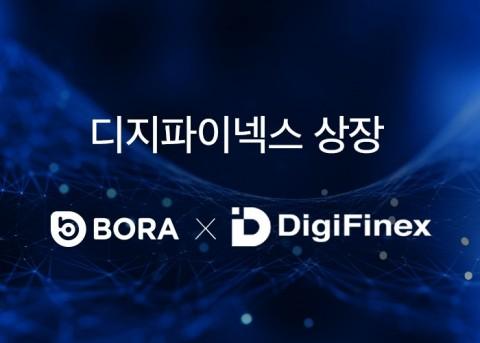 BORA 글로벌 암호화폐거래소 디지파이넥스 상장