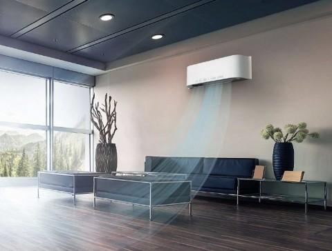 초미세먼지, 온도, 습도, 산소, 이산화탄소 5가지 실내 공기 요소를 측정하는 옥서스의 산소발생기 신형 실내기