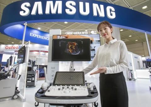 삼성 프리미엄 초음파 진단기기 플랫폼 신제품 HERA W10