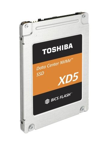 도시바 메모리 코퍼레이션이 2.5 인치 폼 팩터 제품을 추가, 데이터센터 NVMe™ SSD 제품 라인을 강화했다