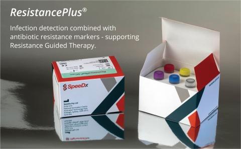 SpeeDx ResistancePlus 검사는 항생제 내성과 관련된 유전적 표지와 감염의 탐지를 결합한다. 레지스턴스 플러스 GC는 임균 탐지에 더해서 시프로플록사신 민감성 표지까지 찾아낼 수 있다. 레지스턴스 플러스 MG는 마이코플라스마 제니탈리움과 아지트로마이신 내성과 관련된 유전자표지를 찾아내준다.