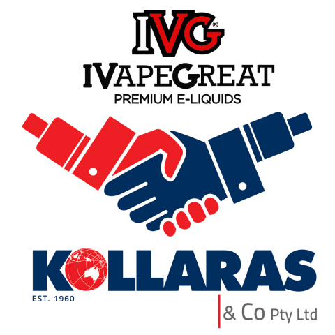 IVG 프리미엄 이-리퀴즈가 콜라라스 앤 컴퍼니와 전략적 제휴를 발표했다